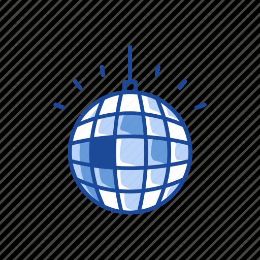 ball, disco, disco ball, party ball icon