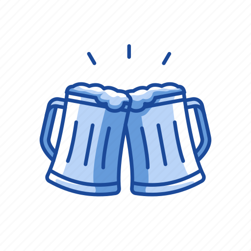 beer, cheers, party, rhum icon