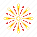 air, explosions, fireworks, sparkles, star icon