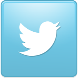 Image result for twitter square logo
