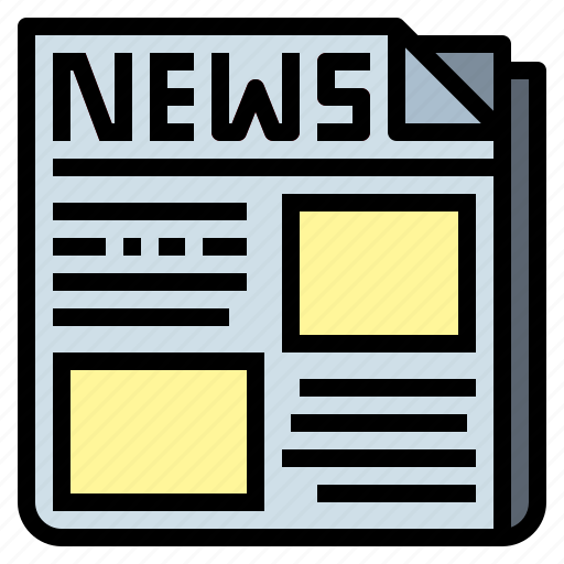 daily, information, newspaper, report icon