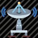 antenna, dish, radio, satellite, wireless icon