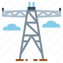 network, signal, technology, telecommunication, tower icon
