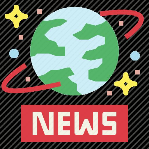 earth, global, news, worldwide icon