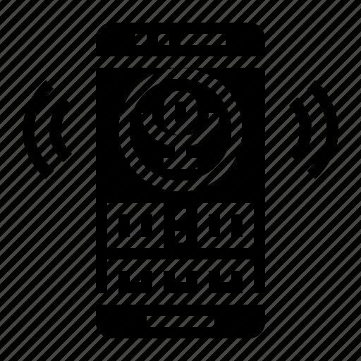 microphone, radio, record, sound icon