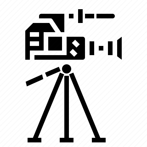 camera, film, movie, technology, video icon