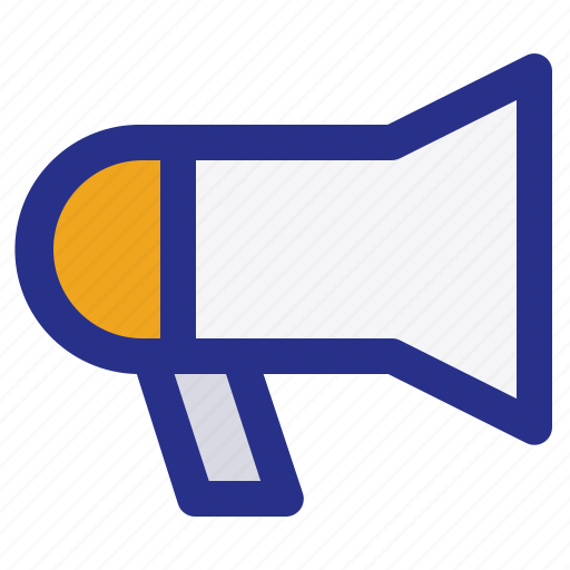 broadcast, interest, magazine, megaphone, news, reportage icon