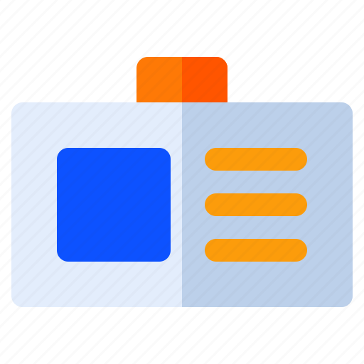 broadcast, card, id, interest, magazine, news, reportage icon