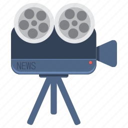 camera, capture, event, focus, information, media, news icon