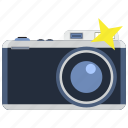 capture, focus, information, media, news, photo camera icon
