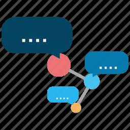 information, media, message, news, sharing, social icon
