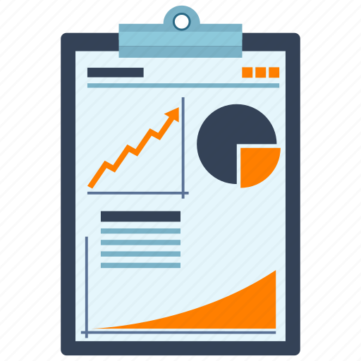 analitics, business, finance, information, media, statistic icon