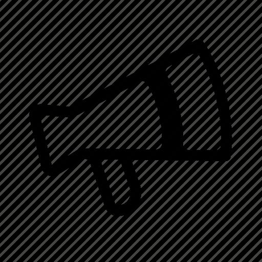 information, loud, megaphone, news, speaking icon