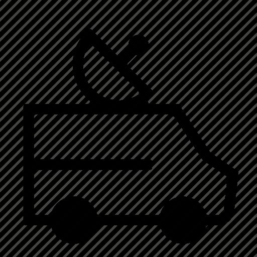 antenna, information, news, satellite, tg, van icon