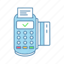 credit card, digital money, payment, pos terminal, purchase, terminal, transaction