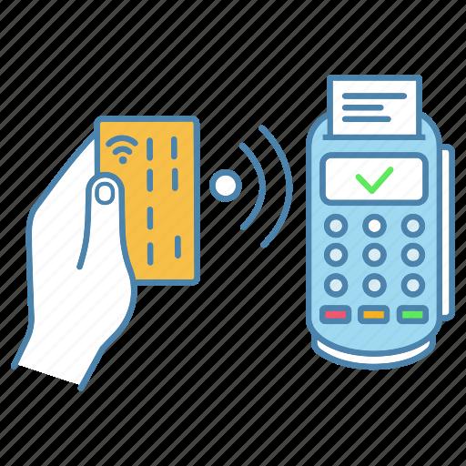 Contactless, credit card, nfc, payment, pos terminal