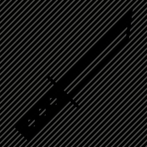 katana, knife, ninja, samurai, small, tool, weapon icon
