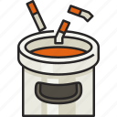 cigarette, bin, cigarette bin, trash, garbage, smoking, waste