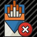 cigarette, no cigarette pack, cigarette pack, no smoking, smoking, smoke, no cigarette
