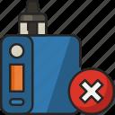 vape, no vape, vapor, vaping, electronic cigarette, no smoking, nicotine