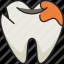 tooth, broken tooth, dentist, dental, broken teeth, dental-care, crack