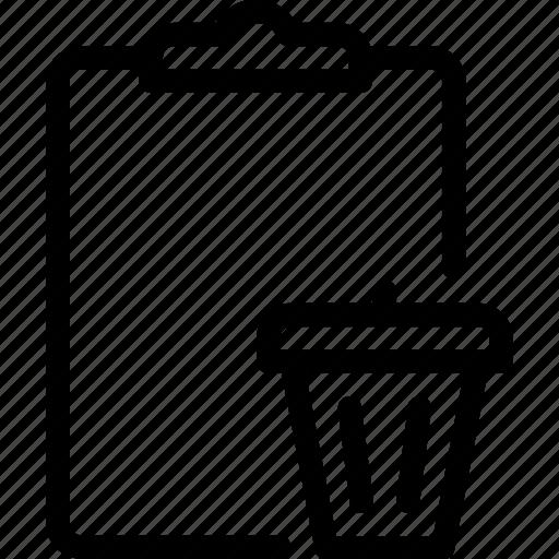 Delete, task, document, file, remove icon - Download on Iconfinder
