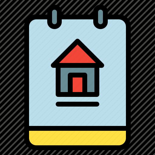 dashboard, home, memo, note icon