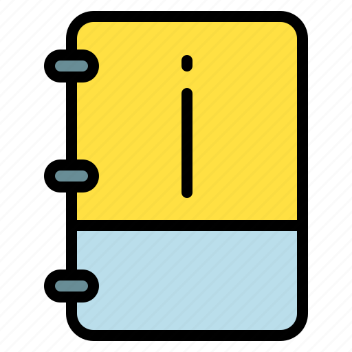 book, important, info, note icon