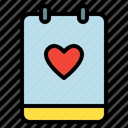 like, love, memo, note icon