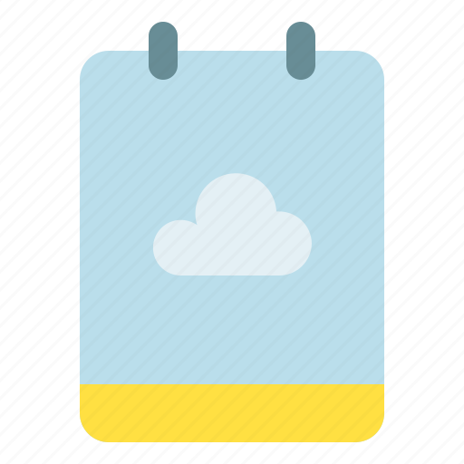 backup, cloud, memo, note icon