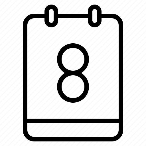 math, memo, note, number icon