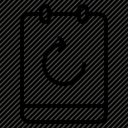 memo, note, refresh, reload icon