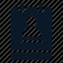 memo, note, profile, user icon