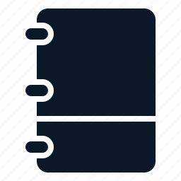 book, empty, note, text icon