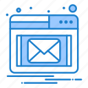 email, notification, popup icon