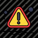 alert, attention, caution, error