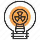 electricity, electronics, idea, illumination, invention, light bulb, technology icon