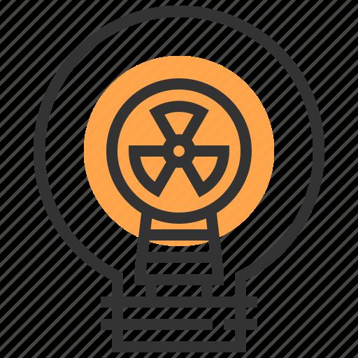 electricity, electronics, idea, illumination, invention, light bulb, technology icon