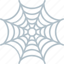 cobweb, halloween, holiday, scary, spiderweb, spooky icon