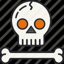 bone, death, halloween, holiday, scary, skull, spooky