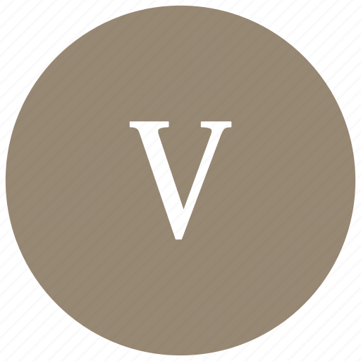 count, five, greek, math, mathematics, number icon