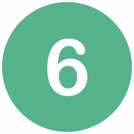 count, math, mathematics, number, six icon