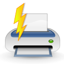 file, print, quick icon