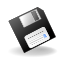 Disk, filesave icon