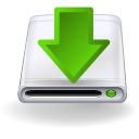 download, hard disk, manager icon
