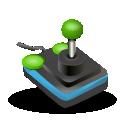 computer game, joystick