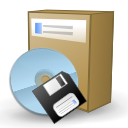 cd, cd package, disc, disk, kpackage, packaging icon