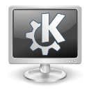 k, monitor, screen icon