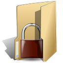 folder, locked, security icon
