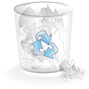 full-alt, trashcan icon